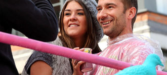 Manchester Pride 2011: Brooke Vincent and Charlie Condou