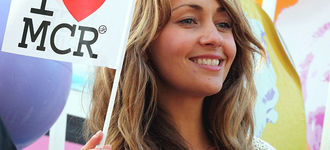 Manchester Pride 2011: Samia Smith Flies The Flag