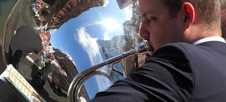 Manchester Pride 2011: Reflections In A Tuba