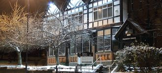 Middleton Library in Winter