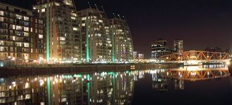 Waterfront Apartments at Salford Quays