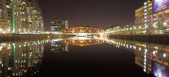 Salford Quays: Reflections