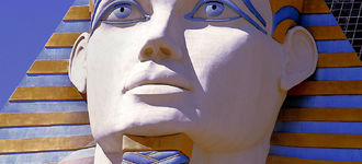 Sphinx Head, Luxor Casino, Las Vegas
