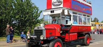 London General Omnibus at Spalding Flower Festival