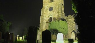 St Mary's Church, Astbury At Night (HDR)